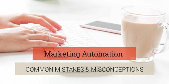 Marketing automation mistakes