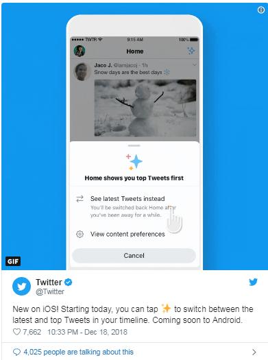 Twitter Latest Button