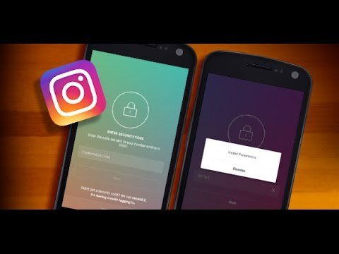 Instagram Two Step Authentication