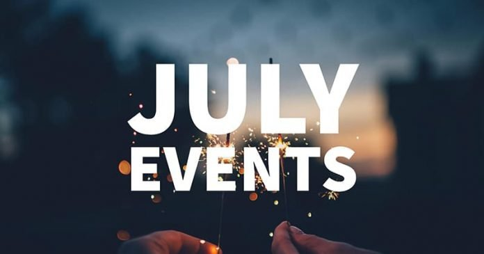 List of Events July