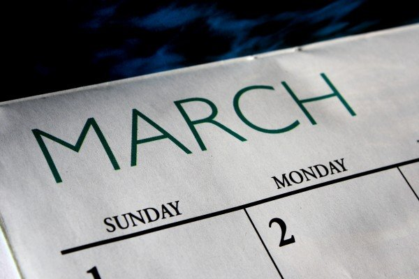 List of Events March