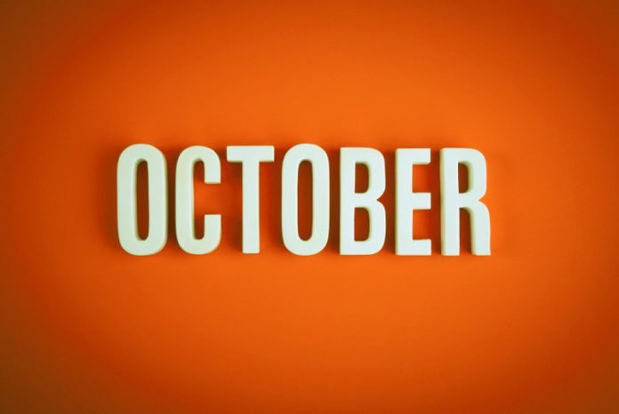 List of Events October