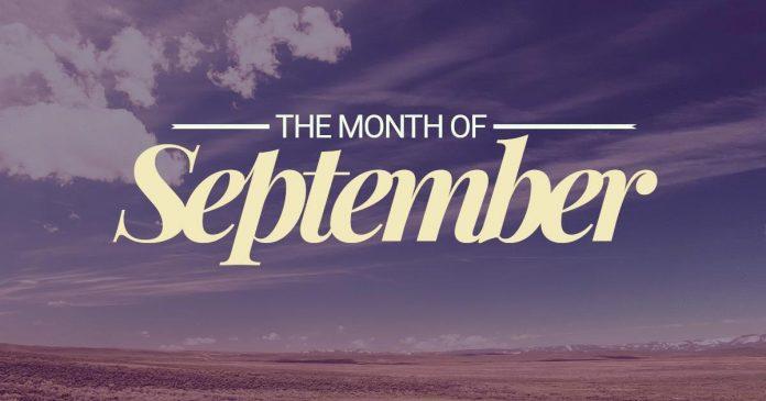 List of Events September