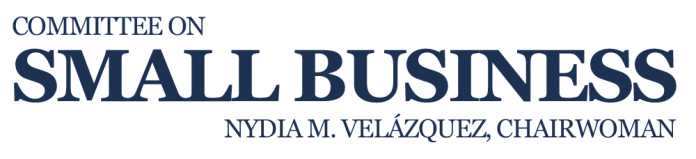 Velázquez Small Business Bills